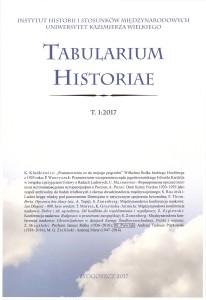 Tabularium Historiae I